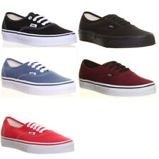 Genuine Vans Shoes Authentic Plimsolls Mens Skate Sneakers Low Top Trainers Size