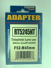 Raynox RT5245NT Lens Adapter for Nikon COOLPIX 5400 Digital Camera F52 - M45mm