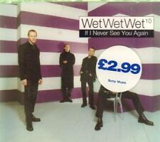 Wet Wet Wet(CD Single)If I Never See You Again CD1-New