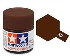 Tamiya Mini X09 BROWN - Acrilico Lucido 10ml