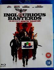 Inglourious Basterds (Brad Pitt) Blu-Ray 2009 *Brand New And Unsealed*