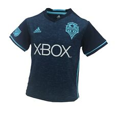 Seattle Sounders FC Official MLS Adidas Youth KIDS Size Athletic Jersey New Tags