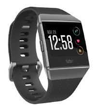 Fitbit Ionic Fitness Smartwatch S-L-Charcoal&Smokegray Neu! (no waterproof)