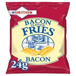 BACON FRIES Full Card 24 Packets X 27g - FRESH STOCK