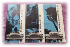 LANCIA Flaminia GT Convertible Broschüre Prospekt Katalog in Farbe 4 sprachig