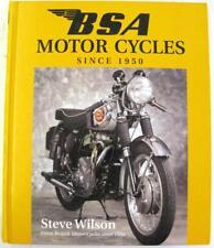BSA MOTOR CYCLES SINCE 1950 Steve Wilson ISBN 1852605723 Motorcycle Book
