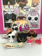LOL Surprise Pets - Gold⭐️❤️Ultra Rare Heart Barker & It Kitty-New/Unopened Bags