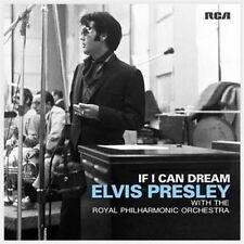 ELVIS PRESLEY (IF I CAN DREAM - PHILHARMONIC OPERA ROYAL CD SEALED + FREE POST)