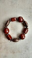 Copper Color Fashion Bracelet,New Cute Chunky Burnt Orange and
