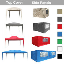 More details for top cover side panels for outdoor pop up gazebo garden marquee tent replacement
