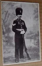 Postcard WW1 Sergeant Northumberland Fusiliers unposted