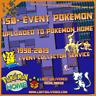 Pokemon Home Exclusive Event Pokémon Upload   Sword and Shield service