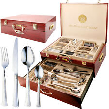 PRIMA 95 PIECE CANTEEN OF CUTTLERY IN WOODEN CASE NEW DESIGN FOR 2017