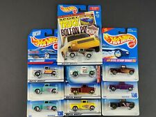 Hot Wheels 56 Flashsider Chevy Lot of 10 Trucks Race 136 771 899 Editors Car NEW