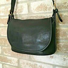 Coach 4150 Black Soho Fletcher Leather Shoulder Bag EUC