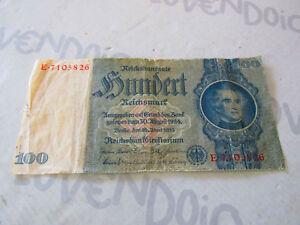 Banconota da 100 REICHSMARK del 1924-35