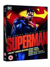 DC UNIVERSE - Superman dessin animé Collection Film Blu-ray NEUF (1000619248