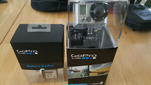 GoPro HD Hero2 High Definition 1080p Outdoor  Action Camera Battery bacpac NEW!!