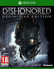 Dishonored The Definitive Edition Videogame For Xbox One Games Console New Uk