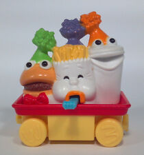 Vintage McDonald's 1994 Train Car Fries Shake Drink Hamburger Happy Meal Toy