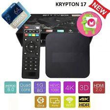 Pro S905X Smart TV OTT BOX Android 6 Marshmallow Quad Core 8GB Box 4K