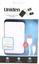 Uniden 6000mAh Portable power pack 27 hours talk time