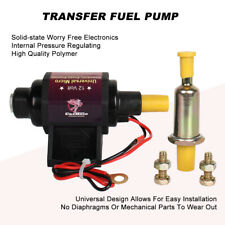 42S Universal Low Pressure Electric Fuel Pump 2-3.5 PSI 28 GPH 12V Gasoline Only
