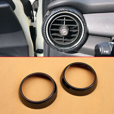 For Mini Cooper 2015-2019 Accessories Interior Dashboard Air Vent Surrounds Ring