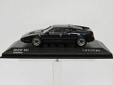 BMW M1 Dunkelblau 1978 1/43 Minichamps Nr. 430025024