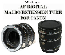 VIVITAR MACRO EXTENSION TUBE SET FOR CANON VIV-EXT-C (13mm, 21mm & 31mm)
