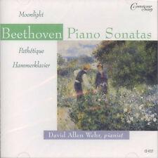 David Allen Wehr, Beethoven - Piano Sonatas / CD (neu, OVP) Connoisseur Society