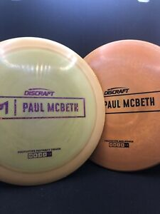 Discraft Paul Mcbeth Prototype Lot - Used