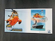"Ascension Island - ""SHIPS ~ PLANES ~ RAF SEARCH & RESCUE"" MS FDC 2011 !"