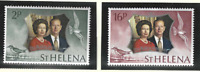 St. Helena Stamps Scott #271 To 272, Mint Never Hinged