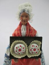 French Provencal Santon Habillés Baking Lady Figurine Made in France