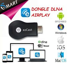 ADATTATORE DLNA AIRPLAY MIRACAST HDMI WIFI DISPLAY TV TABLET DONGLE SMART TV