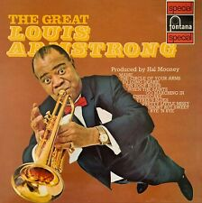 Louis Armstrong - The Great Louis Armstrong (LP) (G-VG/G+)