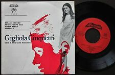 GIGLIOLA CINQUETTI + TRIO LOS PANCHOS EP MADE IN PORTUGAL 45 PS 7 *BESAME MUCHO*