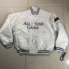New Tags Authentic New York Yankees All Star 2002 Button MLB Majestic Jacket XL