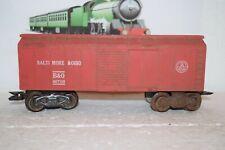 O Scale Trains Marx Baltimore Ohio Box Car 467110