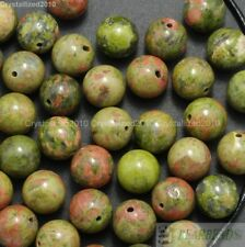 Natural Unakite Gemstone Round Loose Beads 2mm 3mm 4mm 6mm 8mm 10mm 12mm 16''