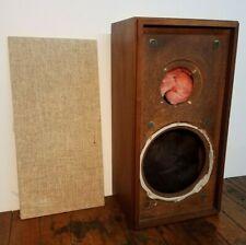 Vintage Klh Model 17 Seventeen Loudspeaker Cabinet Enclosure w/Grille & Damping