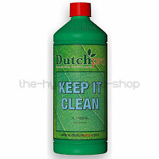 Dutch Pro Keep It Clean 1 Litre Hydroponic Nutrient Solution Cleaner