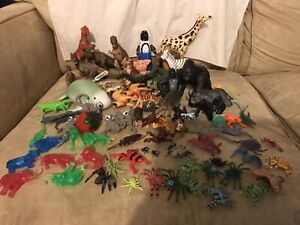 Lot of Over 60 Toy, Mixed Unbranded And Good Brands