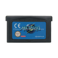 Metroid Fusion GBA Game Boy Advance Cartridge EU English