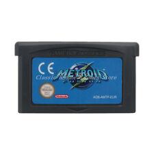 Metroid Fusion GBA Game Boy Advance Cartridge EU English