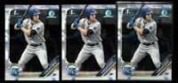 2019 Bowman Chrome BREWER HICKLEN rookie LOT prospect 3 card royals kansas city