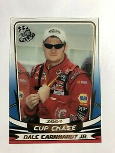 2004 Press Pass INSERT CLEAR CUP CHASE NASCAR Card #CC 3/18 Dale Earnhardt Jr
