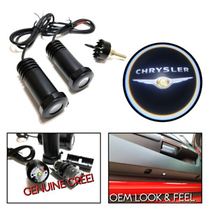 Lumenz LED Courtesy Logo Lights Ghost Shadow for Chrysler 100545