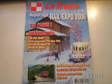 **b Le train n°249 BB 800 - 900 et 300 / Rail Expo 2008 / TGV POS en H0